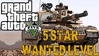 5 STAR WANTED LEVEL (GTA V Online w/ Viewers)