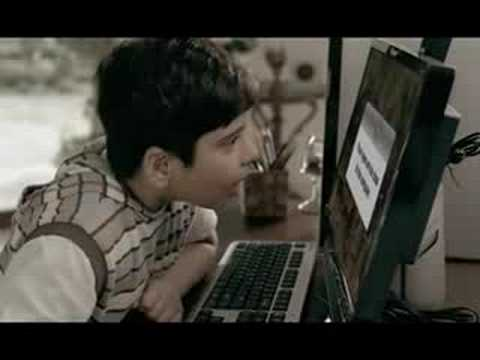 Saif ali khan in Lenovo laptop K200 Tv advert...