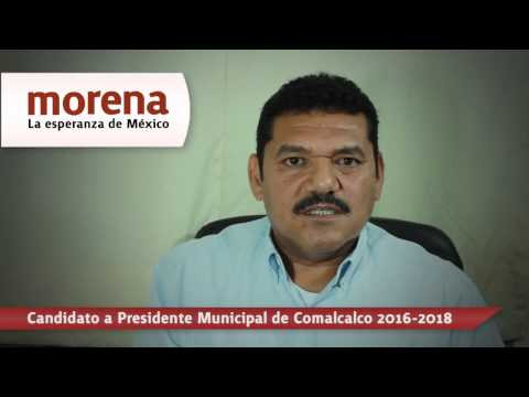 Morena, la esperanza de Comalcalco: Javier May