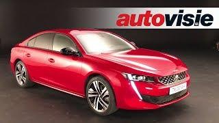 Peugeot 508 (2018) - In Detail - Autovisie Vlog