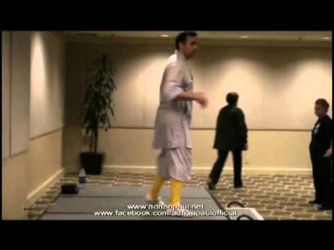Adrian Paul Martial Arts Class at Highlander Worldwide Convention
