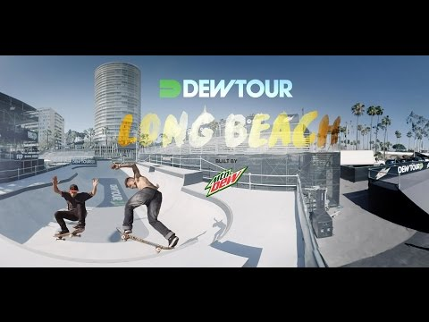 Dew Tour 360° Bowl Session: Long Beach 2016