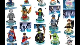 Lego Dimensions - All 21 Unique Characters in all of the Sets