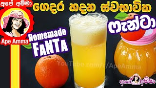 Natural Homemade Fanta by Ape Amma