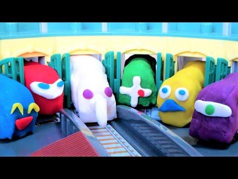 Thomas & Friends Play Doh TOMICA きかんしゃトーマス ねんど トミカ 操車場