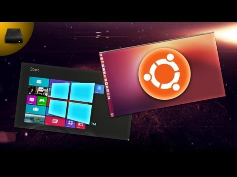 UtD: Ubuntu 12.10 VS Windows 8 //COMPARISON