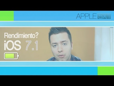 iOS 7.1 bateria, rendimiento en iPhone 4 y nota de Evad3rs