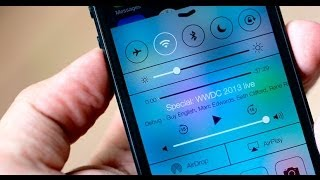 5 Tweaks para Control Center de iOS 7