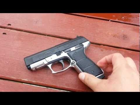 Daisy Powerline 5501 Full Metal Blowback CO2 Gun Shooting Test