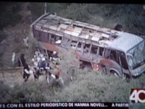 ACCIDENTE DE BUS EN CHAMAPA-LECHERIA 05/OCT/2010