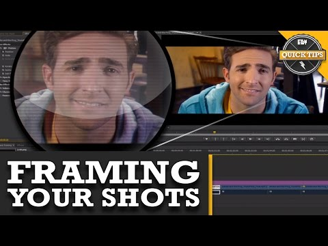 Quicktips: Framing Your Shots!