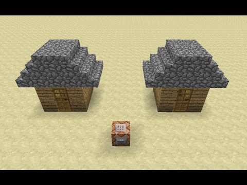 Minecraft Snapshot 14w03a Overview Clone and Fill Commands Layered Skins