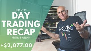 Day Trading Recap, Nov 11: How I Trade Using Higher Timeframes...