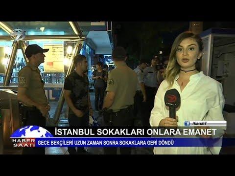 İstanbul sokakları onlara emanet! Gece bekçileri uzun zaman sonra sokaklara geri dönüyor...