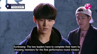 [Eng Sub] Pentagon Maker Ep2 - Announcement of the Mission for the 1st Performance Round