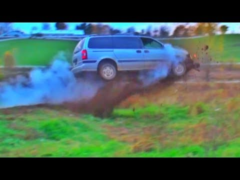 Mini Van Huge Jump!