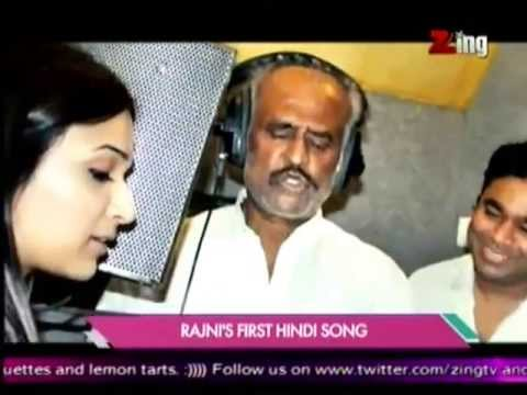 Rajinikanth Sings for Hindi `Kochadaiyaan`