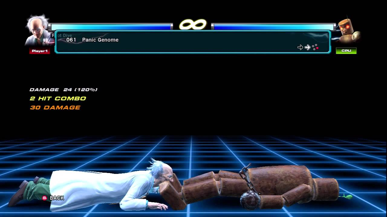 Tekken tag tournament 2 doctor bosconovitch full movelist youtube