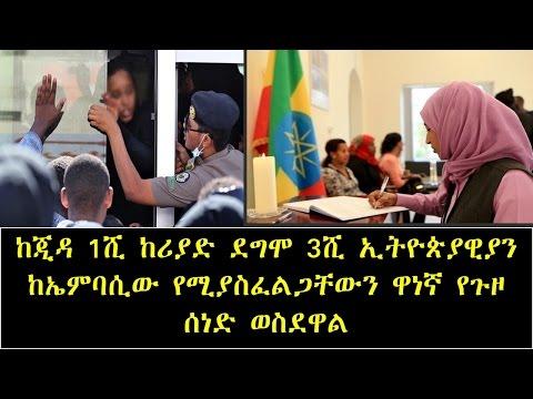 Ethiopian In Saudi Arabia