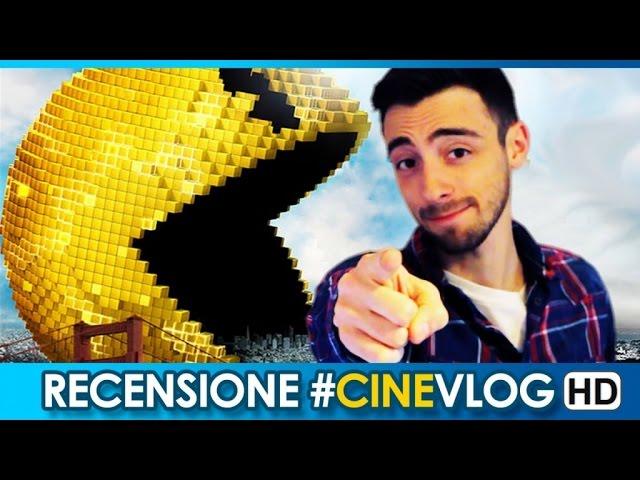RECENSIONE - PIXELS Trailer #CineVlog