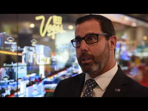 WTM 2016: Michael Goldsmith, vice president of international marketing, Las Vegas