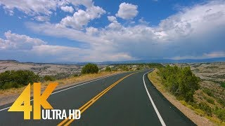 4K Scenic Byway 12 | All American Road in Utah, USA - 5 Hour of Road Drive with Relaxing Music