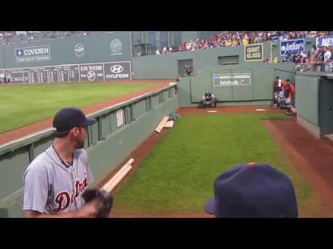 Justin Verlander Crazy Warm-Up!