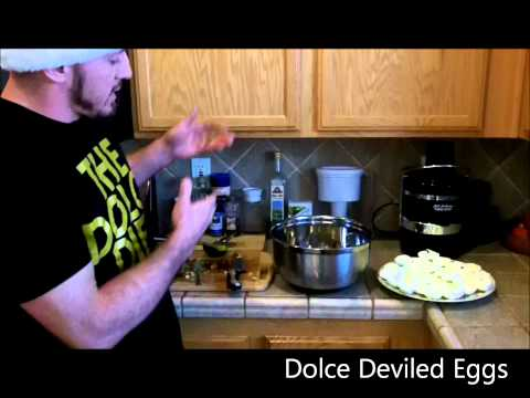 In the Kitchen with The Dolce Diet: Holiday Edition - Dolce Deviled Eggs!