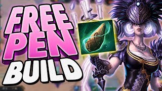 Smite: Stone Of Binding Nox Build - ALL THIS FREE PEN!