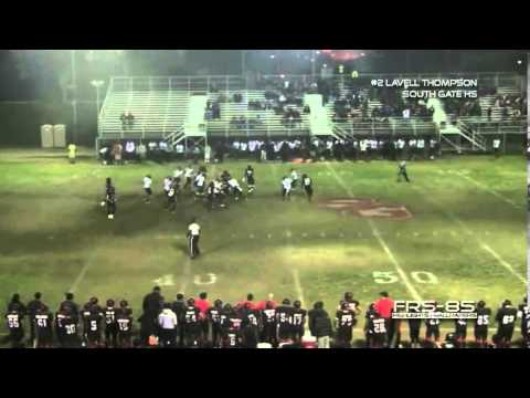 South Gate Rams Lavell Thompson 2013 Highlights