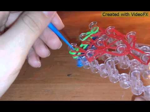 Как сделать клубнику из резинок на пальцах