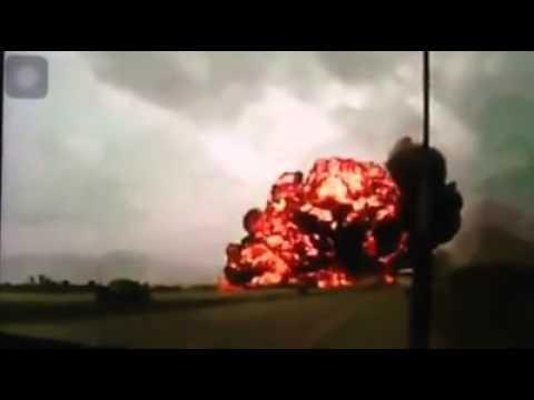 CLIP máy bay Malaysia MH17 bị bắn rơi ở Ukraine