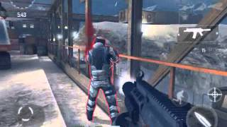 Mi primer Gameplay Modern Combat 4 iPad 2