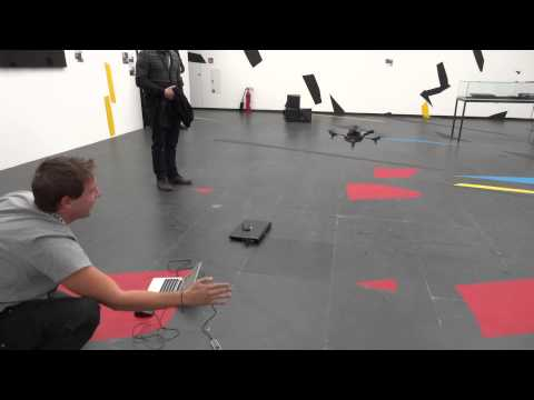 AR.Drone + Leap Motion + vvvv