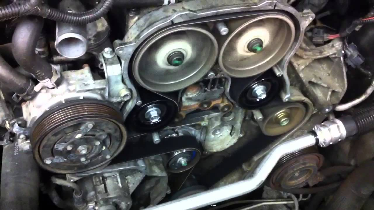 2005 Jeep Liberty first startup after broken timing belt