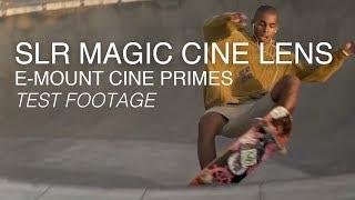 SLR Magic CINE Prime Lenses E-Mount – 35mm f1.2, 50mm f1.1, 75mm f1.4