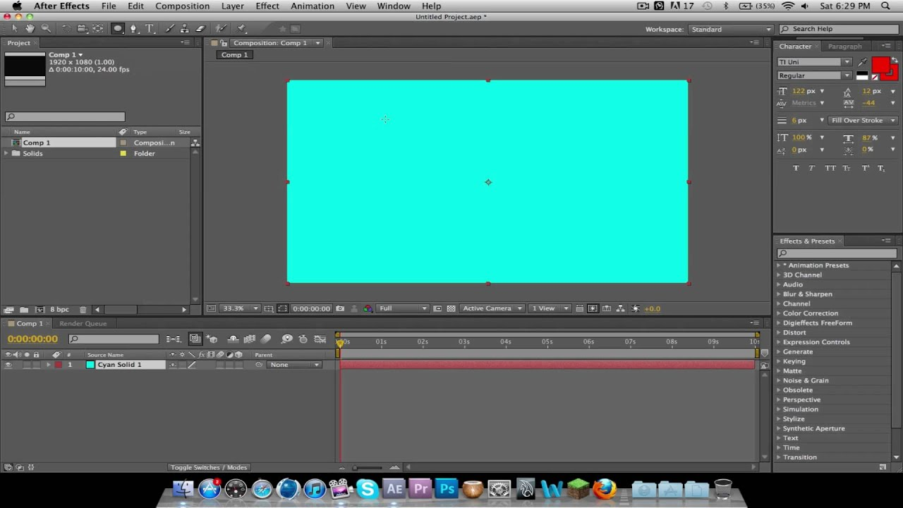 how to add background image after effects