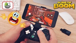 Guns of Boom with Gamepad, HOW? (Only Android)