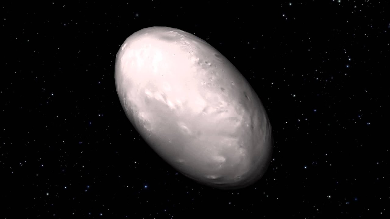 Pluto the moon spin