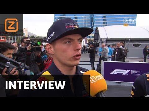 Interview | Max Verstappen: 'Dit mag niet gebeuren' | GP Azerbeidzjan | 29/04/2018
