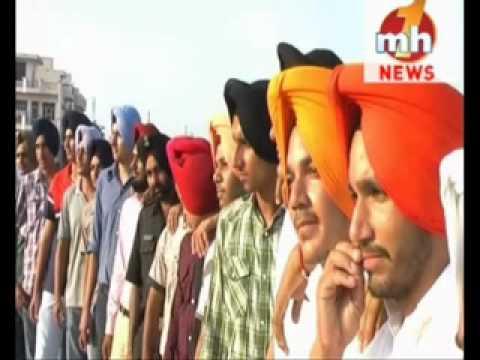 FEROZPURIA  The latest Art of Turban Tying WITH CLOSE EYES Punjab News 94635-95040  - 94174-13003