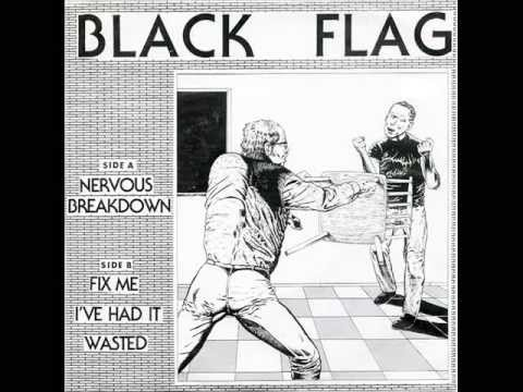 Black Flag - Nervous Breakdown 7''