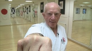 75-year-old wins second black belt in karate