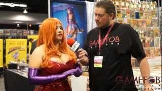 Gamefob At wondercon 2013 - Ivy DoomKitty