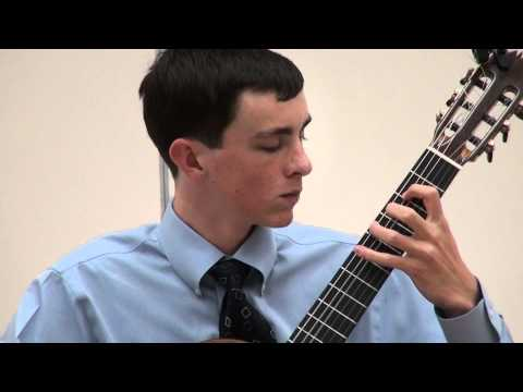 Alexander Stroud at Sacramento Guitar Society - Narvaez - Diferencias sobre