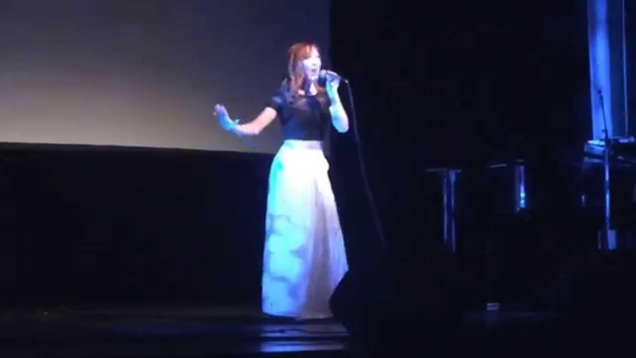 Annika Herlitz - Slå dig fri (Frost), first live performance ...