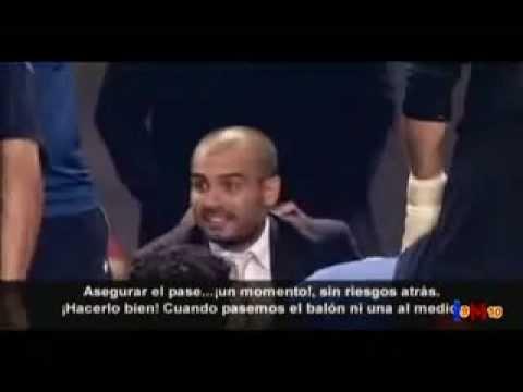 Las palabras de Pep Guardiola para motivar a sus jugadores
