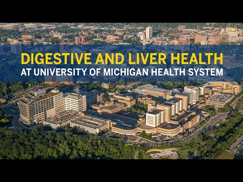 Digestive and Liver Health Services at University of Michigan Health System
