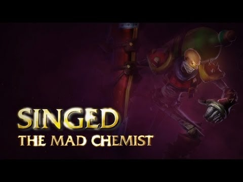 Singed Champion Spotlight Music Videos