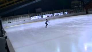 Kumsal BELİN from TURKEY ( Silver Medal ) / 7th Europa Cup Skate Helena Belgrade 2014